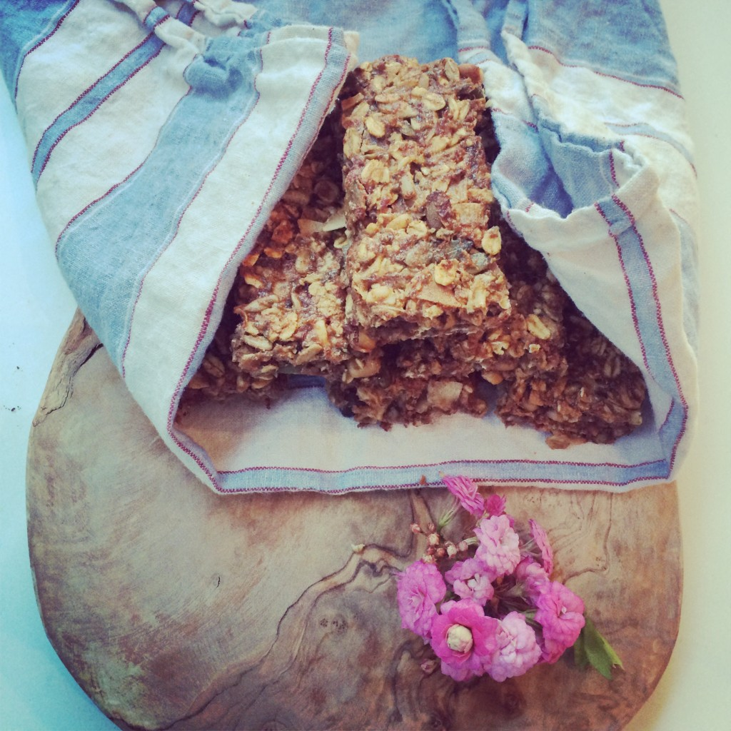 Chewy Peanut Energy Bars